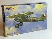 KP Kopro No.3149 1/72 Skoda D.1 Aircraft Plastic Model Kit