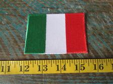 NEW ITALIAN FLAG RACING PATCH ITALY FERRARI FIAT ALFA LAMBORGHINI MASERATI SCCA