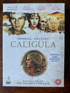 Caligula DVD 1979 Movie Imperial Edition 4 Disc Set Uncut Arrow Video