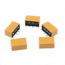 10Pcs HK19F-DC5V-SHG 1A 125V AC/2A 30V DC Mini 8Pin Power Relay