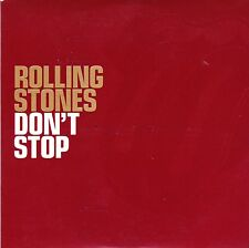 ROLLING STONES DON'T STOP VIRGIN RECORDS ONE TRACK PROMOTIONAL CD 2002