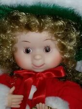 """Undercover Kids """" Brittany """" Animated Christmas Doll * 13 1/2"""" High * Nib"""