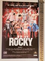 Rocky Movie Toy RARE Print Advertisement