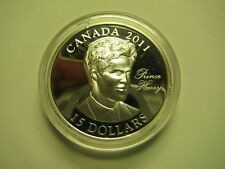 2011 Proof $15 Continuity Crown-Prince Henry (Harry) Wales UHR Canada COIN ONLY