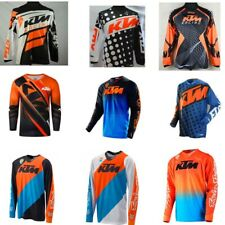 KTM Long Sleeve Shirt Jersey Motocross maillot ciclismo Mountain downhill Bike
