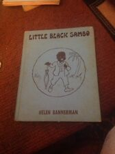 Little Black Sambo booklet Platt & Munk Co. 1928