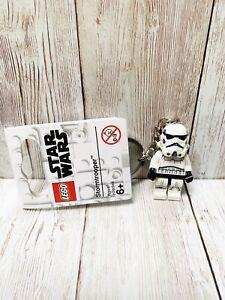 GENUINE LEGO STAR WARS STORMTROOPER MINIFIGURE KEYRING 853946