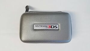 Nintendo 3DS Carry Case - Silver - Free Shipping