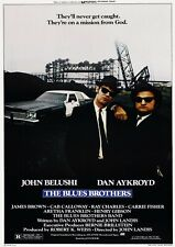 The Blues Brothers 1980 Movie Poster Print A0-A1-A2-A3-A4-A5-A6-MAXI 918