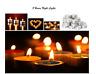 Tea Night Lights Candles 8 HOUR LONG BURN Unscented Tealights Nightlight 8HR