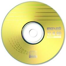 Maxell CD-R 80 Mins XL-II Digital Audio Recordable Blank Discs - 10 Pack Sleeved