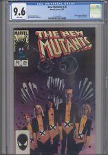 New Mutants #24 CGC 9.6 1985 Marvel Cloak & Dagger, Magneto, Rogue App:New Frame