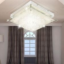 Design LED Decken Lampe Schlafzimmer Flur Glas Kristall Behang Leuchte EEK A