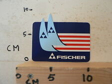 STICKER,DECAL FISCHER SKI LOGO