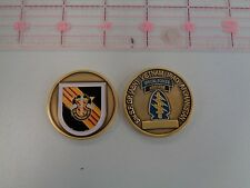 5th Special Forces Group (Vietnam) and Now Current Challenge Coin E SOG MACV