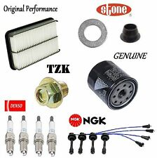 Tune Up Kit Air Oil Filters Plugs Wire for Toyota Corolla 1.8L 1997-1999