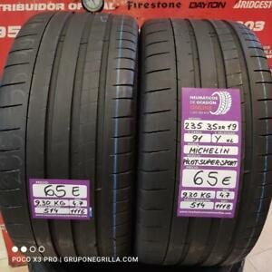 2 x 235 35 R 19 91Y XL 4.7/4.7mm Michelin Pilot-Super-Sp.Ref.514