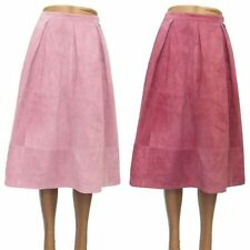 Topshop Patternless Regular Calf Length Skirts for Women