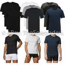 Hugo Boss Para Hombre 3 Pack Cuello Redondo T Tee Shirts Caja de Regalo 100% algodón rn 3P Co