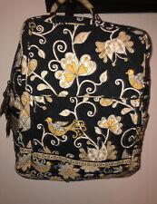 "Retired Vera Bradley Yellow Bird Medium School Backpack EUC 15"" X 12"""