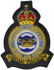 RAF Coastal Command Royal Air Force Mod Crest Embroidered Patch