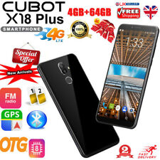 "4G Android8.0 Smartphone 5.99"" Cubot X18 Plus Octa core 4+64GB 16MP FHD Dual SIM"