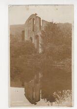 East Front, Valle Crucis Abbey Llangollen RP Postcard, B109