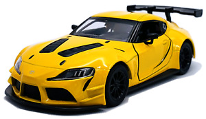 "Kinsmart 1:36 Toyota GR Supra Racing Concept - 5"" Diecast Toy Car - 4 Colors"