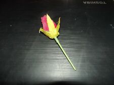 plastic small red rose
