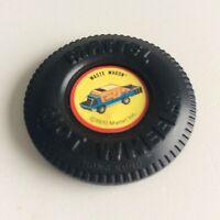 Cement Mixer Heavyweights Button 1969 Hot Wheels Redline Pin