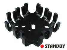 1pc V4527D ASSMANN Heatsink for TO3/TO66/SOT9/SOT32/TO220, 7K/W, black anodized