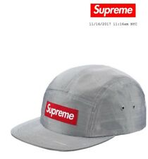 Supreme Drop raw silk camp cap wk 13 2017