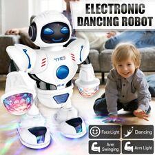 Electronic Robot Sing Dancing Walking With Light Music Sound Kids Toy Gift
