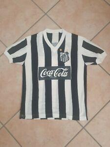 maglia calcio Santos fc brasile vintage in lanetta