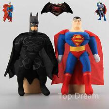 Batman vs. Superman Dawn of Justice Soft Stuffed Plush Doll Toy 10'' Kids Gift