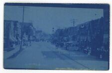 Cyanotype RPPC REYNOLDSVILLE PA Jefferson County Vintage Real Photo Postcard
