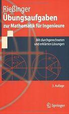 Übungsaufgaben zur Mathematik für Ingenieure: Mit durchg... | Buch | Zustand gut