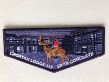 OA (BSA) Croatan #117 Lodge - 2018 SR 7B Conclave Flap