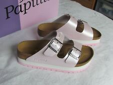 NEW Papillio Arizona Ladies Powder Pink Platform Mules Sandals UK Size 3.5 EU 36