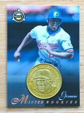Vladimir Guerrero - 1998 Pinnacle Mint Collection Card #27 & Brass Coin - Mint