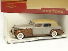 RexToys 1/43 - Cadillac V16 Coupe De Ville 1940 Fermé Marron