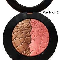 Sonia Kashuk Chic Luminosity Bronzer Blush Duo glisten 52, 2 pack