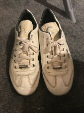 Men's Cruyff Recopa White Leather Trainers - Size UK8