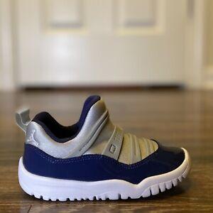 Nike Jordan 11 Retro Little Flex TD SZ 6C 7C 8C 10C Georgetown XI BQ7102-007