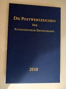 Briefmarken Jahrbuch 2010 mit Schuber Postfrisch