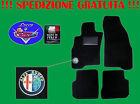 TAPPETINI tappeti Alfa Romeo 147 SU MISURA con ricami e battitacco in gomma