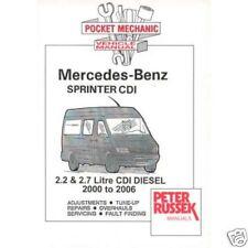 Mercedes Benz Sprinter CDI 2.2 / 2.7 diesel, '00-'06