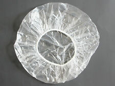 """10 LARGE 24"""" DISPOSABLE CLEAR SHOWER CAPS FREE SHIPPING"""