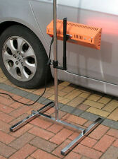 **Two** Infra Red Paint Curing Lamp & Stands 1000w - Smart Repair