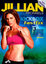 Jillian Michaels: Kickbox FastFix (DVD, 2012)
